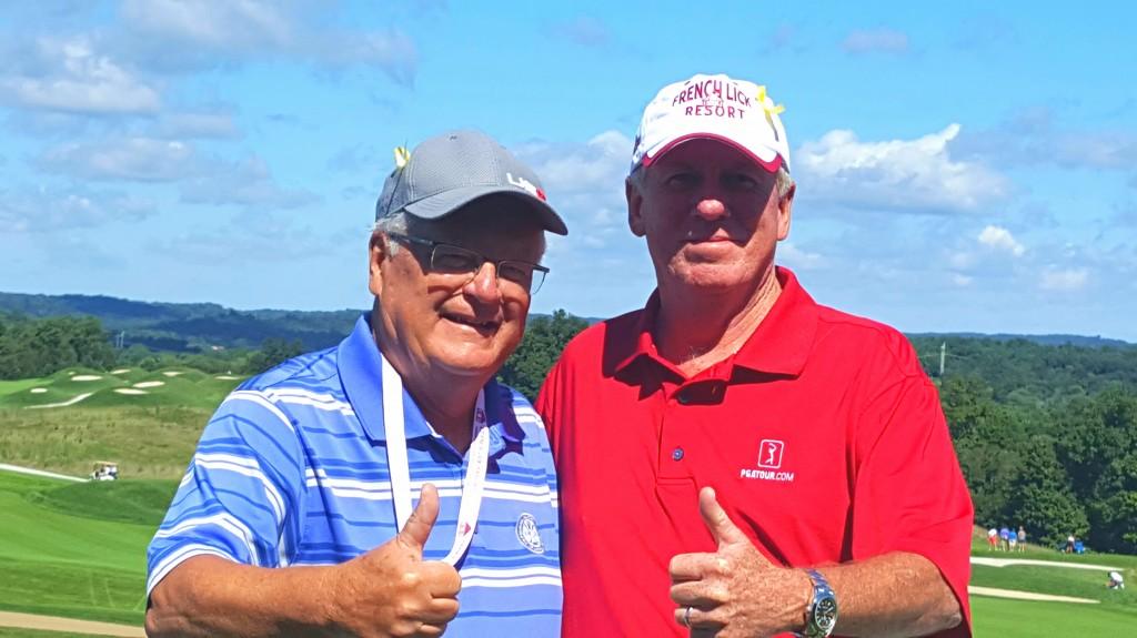 Frank Bassett is my buddy from Golf Talk America.