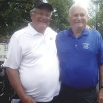 Celebrating another Pine Hollow Open with event founder Bruce Swanson, who has organized the fun nine-hole tourney in Downers Grove for over four decades.