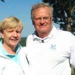 With Jane Blalock, CEO and Hall of Famer on LPGA Legends Tour.