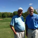 With Tim Moskalic, vice president of Michigan's Yarrow Golf & Conference Resort.