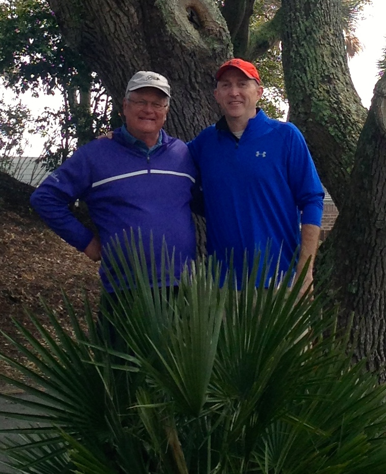 With Chris King of Myrtle Beach Golf Holiday.