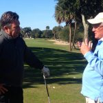Jeff Minton, director of golf at Wild Dunes, and I had a lot to talk about.