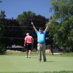 Big Three partner Tim Cronin caught me in a weak moment during the sneak preview of Mount Prospect's renovated course.