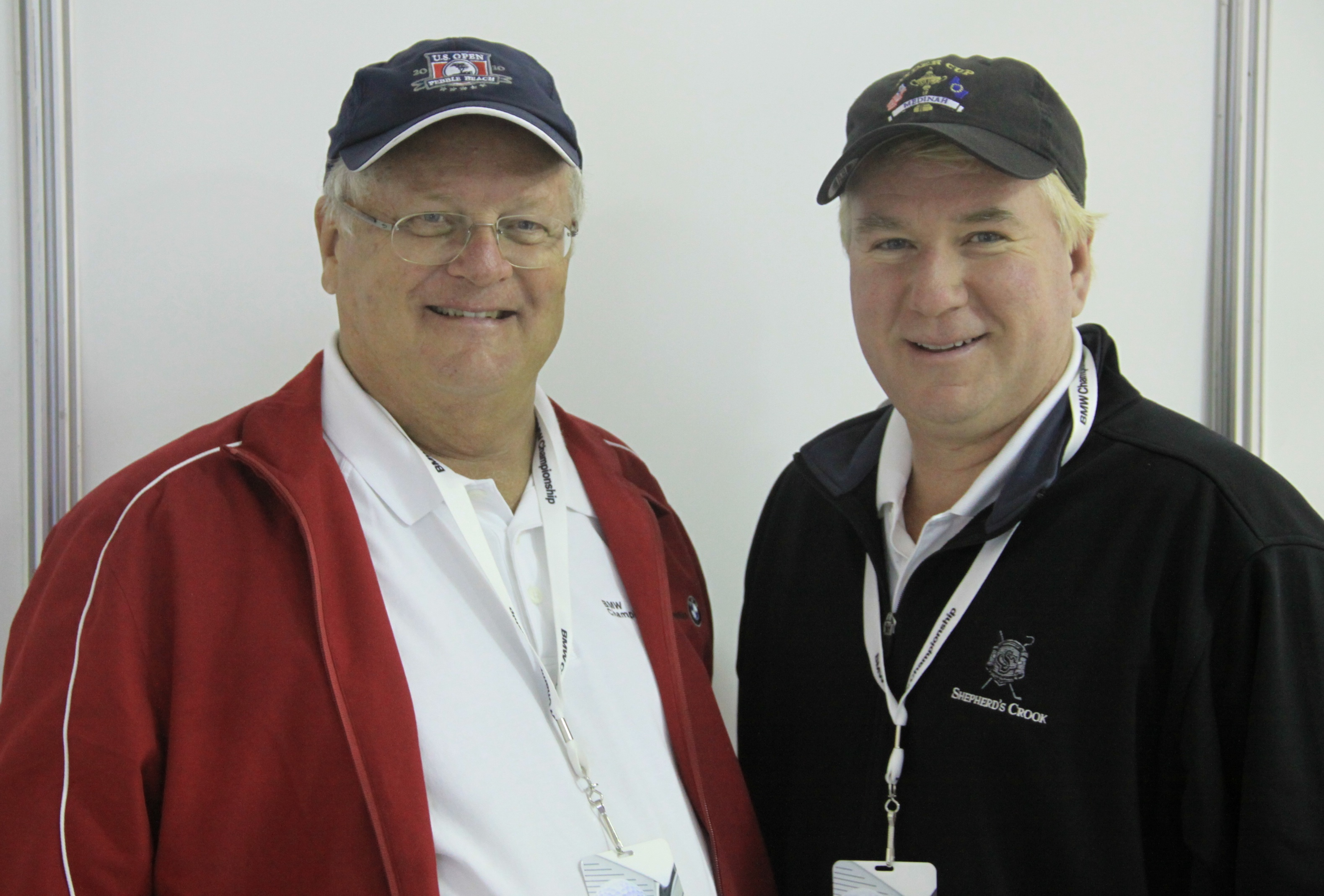 With radio veteran Rory Spears, fellow columnist with Chicago Area Golf.