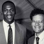 Len Ziehm and Michael Jordan in 1984.