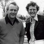 Len Ziehm and Arnold Palmer in 1969.