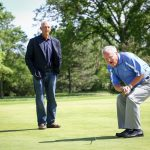Even Tom Lehman couldn't help me replicate his winning putt from the 2014 Encompass Championship.