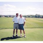 With Kemper Sports president Josh Lesnik on the opening of Hawthorn Woods Country Club.