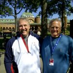 With Joe Steranka,  soon to retire as executive director of PGA of America.
