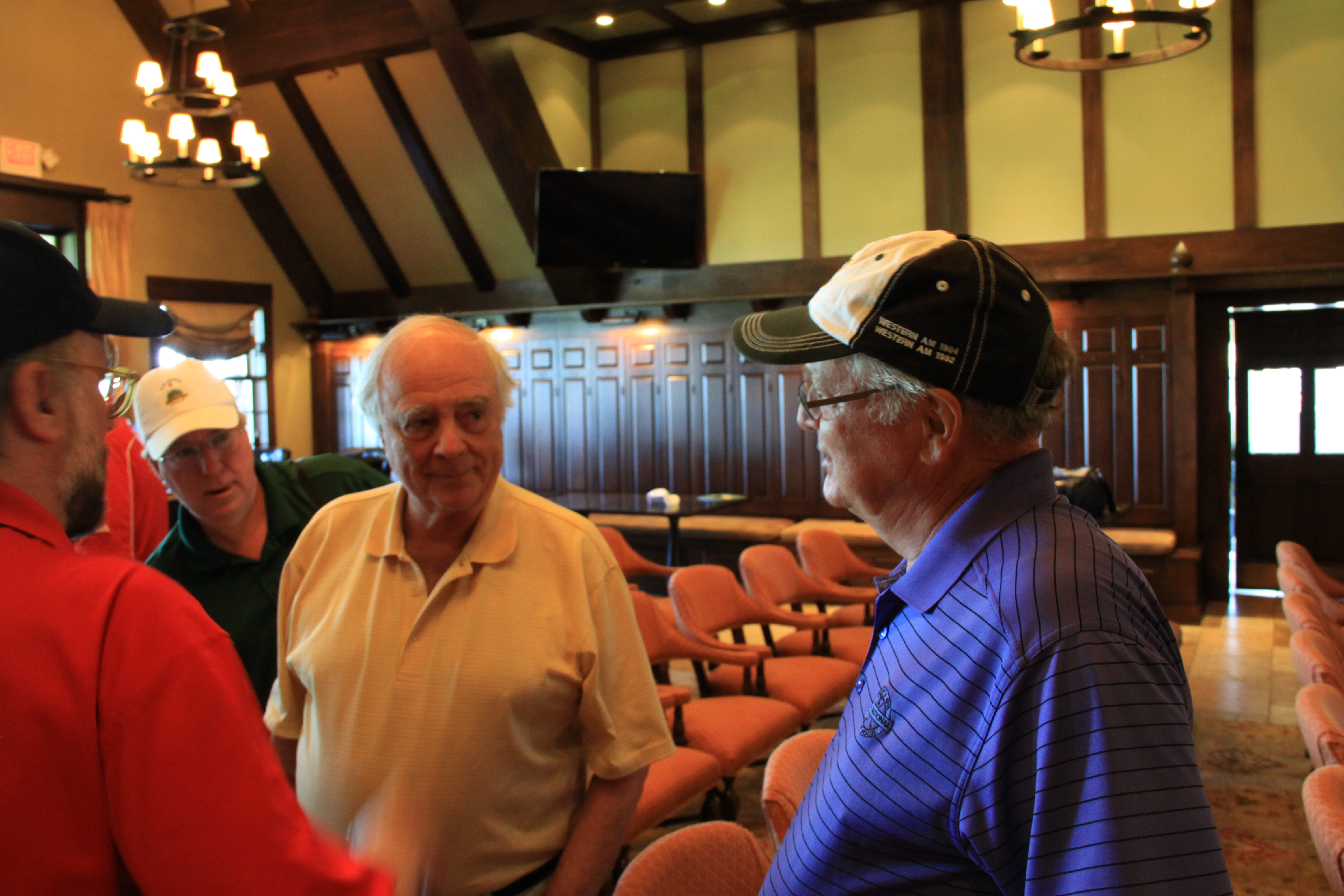 Interviewing famed golf course architect Robert Trent Jones Jr.